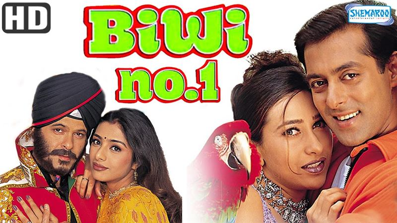 Top 10 Bollywood Movies based on South Indian Movies- Biwi No 1