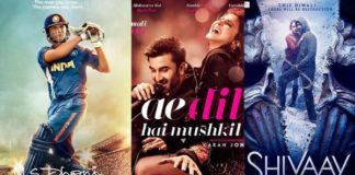 Box Office Report: Shivaay, ADHM To Take Over From M.S. Dhoni – The Untold Story