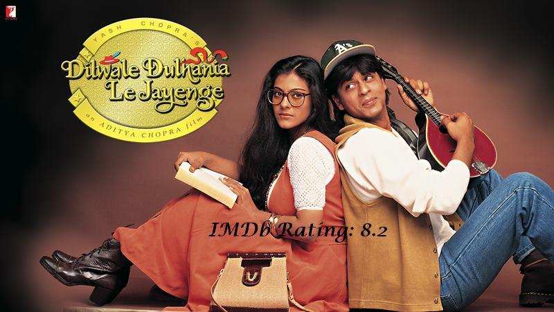 10 Best Shah Rukh Khan Movies Based on IMDb Ratings- DDLJ