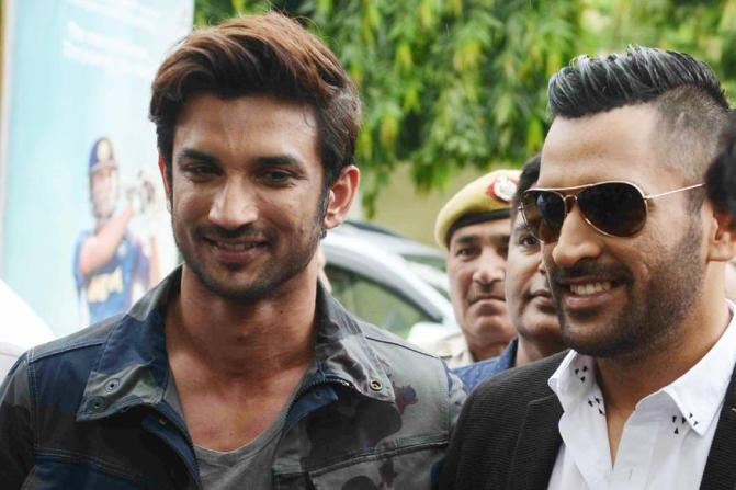 Dhoni Applauds Sushant Singh Rajput's Performance In Biopic
