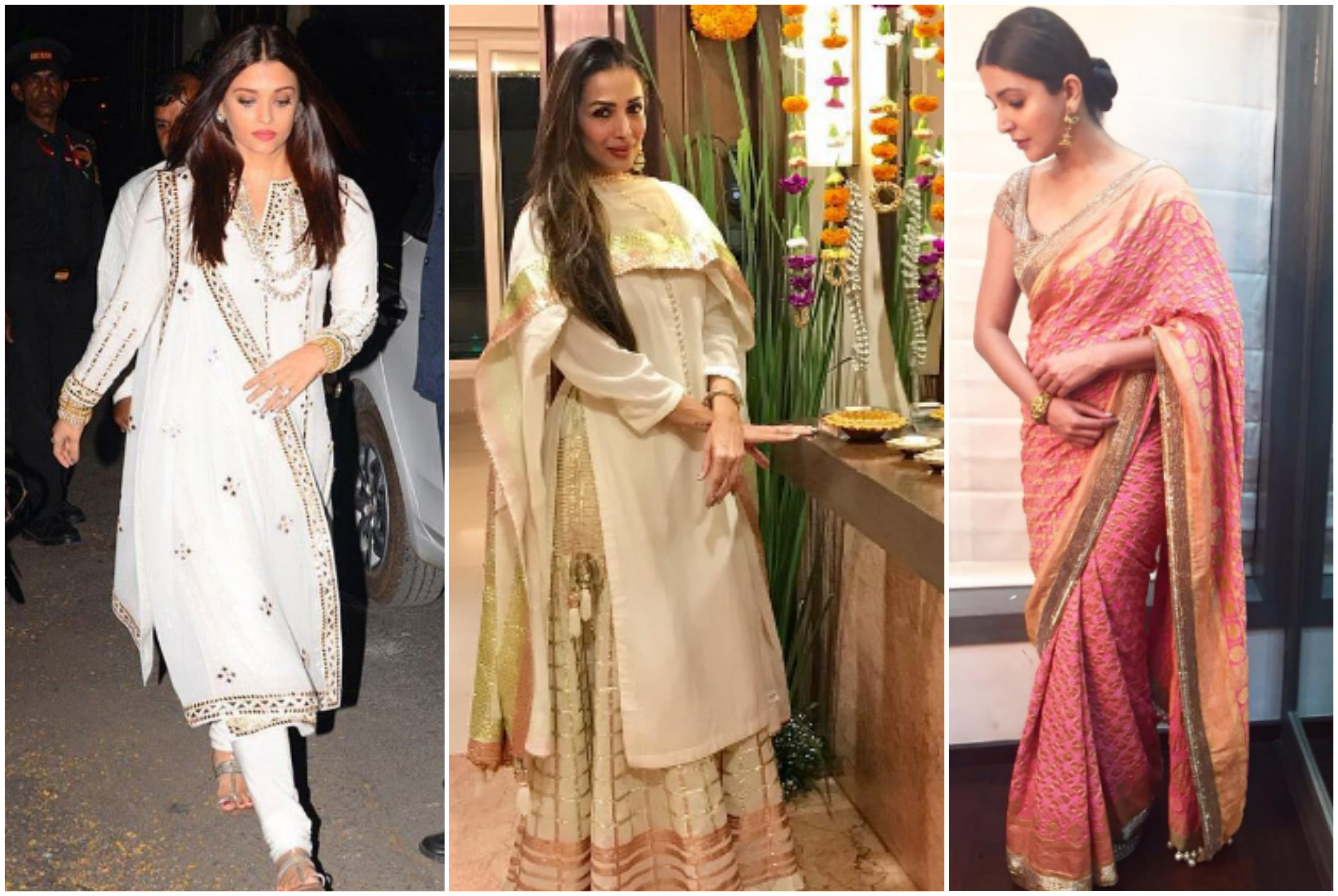 Diwali Outfits Inspiration from Bollywood Actresses