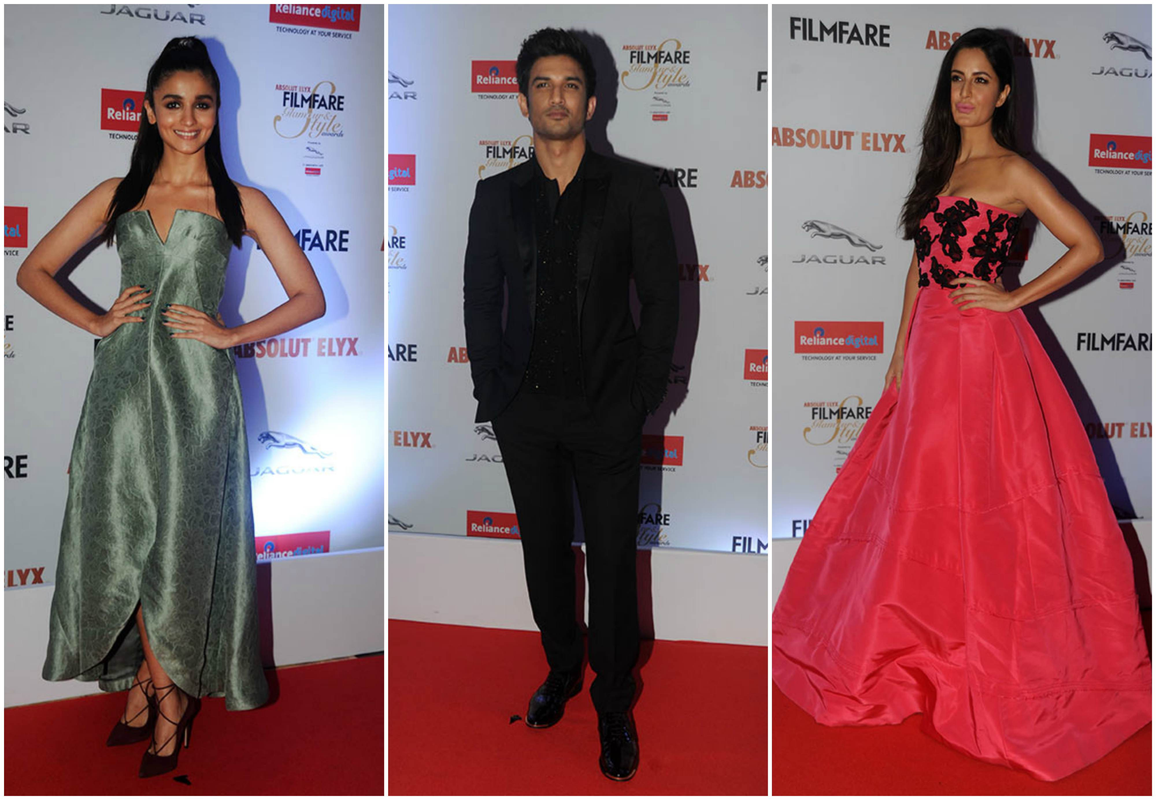 Style Files and Winners of Filmfare Glamour and Style Awards 2016