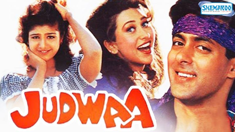 Top 10 Bollywood Movies based on South Indian Movies- Judwaa
