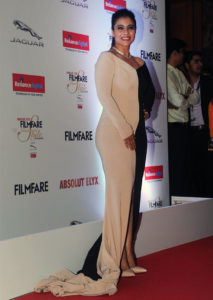 Kajol at Filmfare Glamour and Style Awards