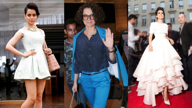 Vote Now : Who is the Most Stylish Bollywood Actress?- Kangana Fashion