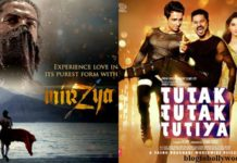 It's going to be Mirzya Vs Tutak Tutak Tutiya this week : Which movie will you go for?