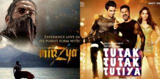 It's going to be Mirzya Vs Tutak Tutak Tutiya this week : Which movie will you go for?