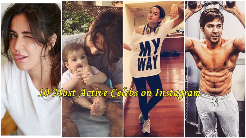 10 Most Active Bollywood Celebs on Instagram that you must follow now!