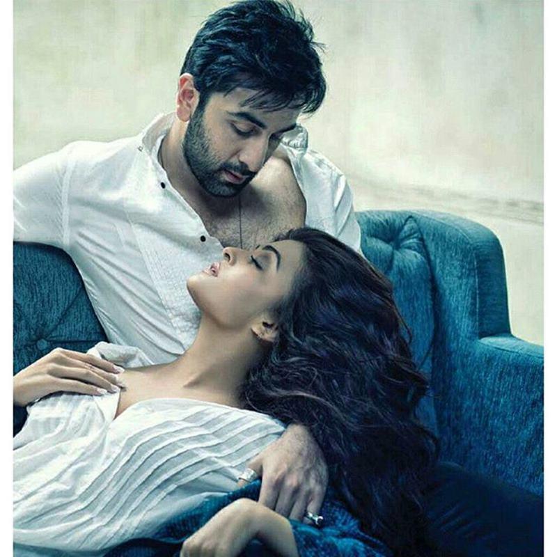Made For Each Other! That's what this hot photoshoot of Ranbir Kapoor-Aishwarya Rai Bachchan says- Ranbir-Aish 2