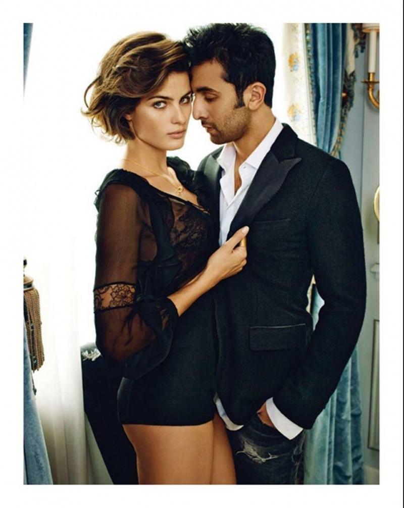 10 Hot Pics of Ranbir Kapoor that are too hot to handle!- Ranbir with Isabeli Fontana