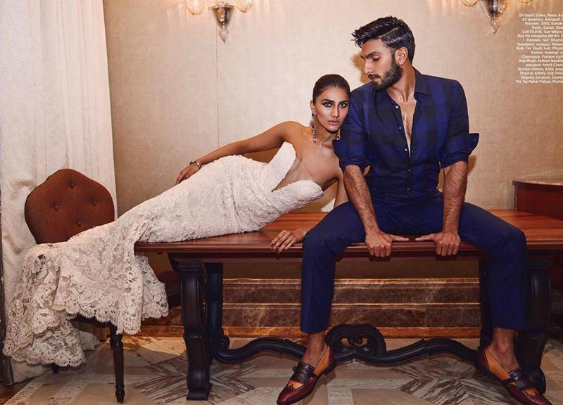 Hot Hot Hot! Ranveer Singh and Vaani Kapoor on Harper Bazaar Bride Cover are way too hot!- Ranveer Vaani 2
