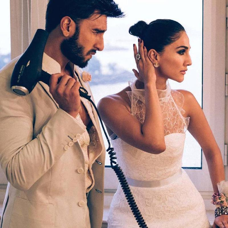 Hot Hot Hot! Ranveer Singh and Vaani Kapoor on Harper Bazaar Bride Cover are way too hot!- Ranveer Vaani 3