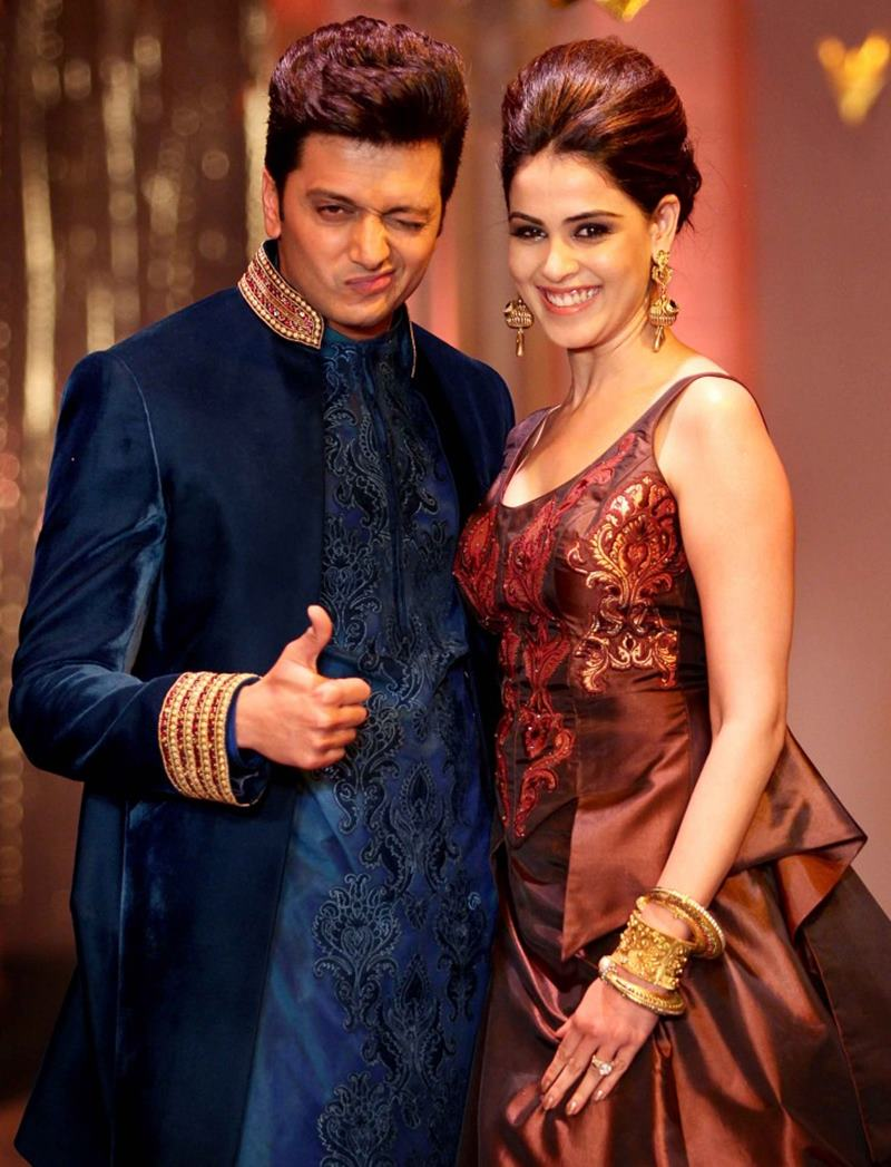 Hottest Married Couples of Bollywood- Riteish-Genelia