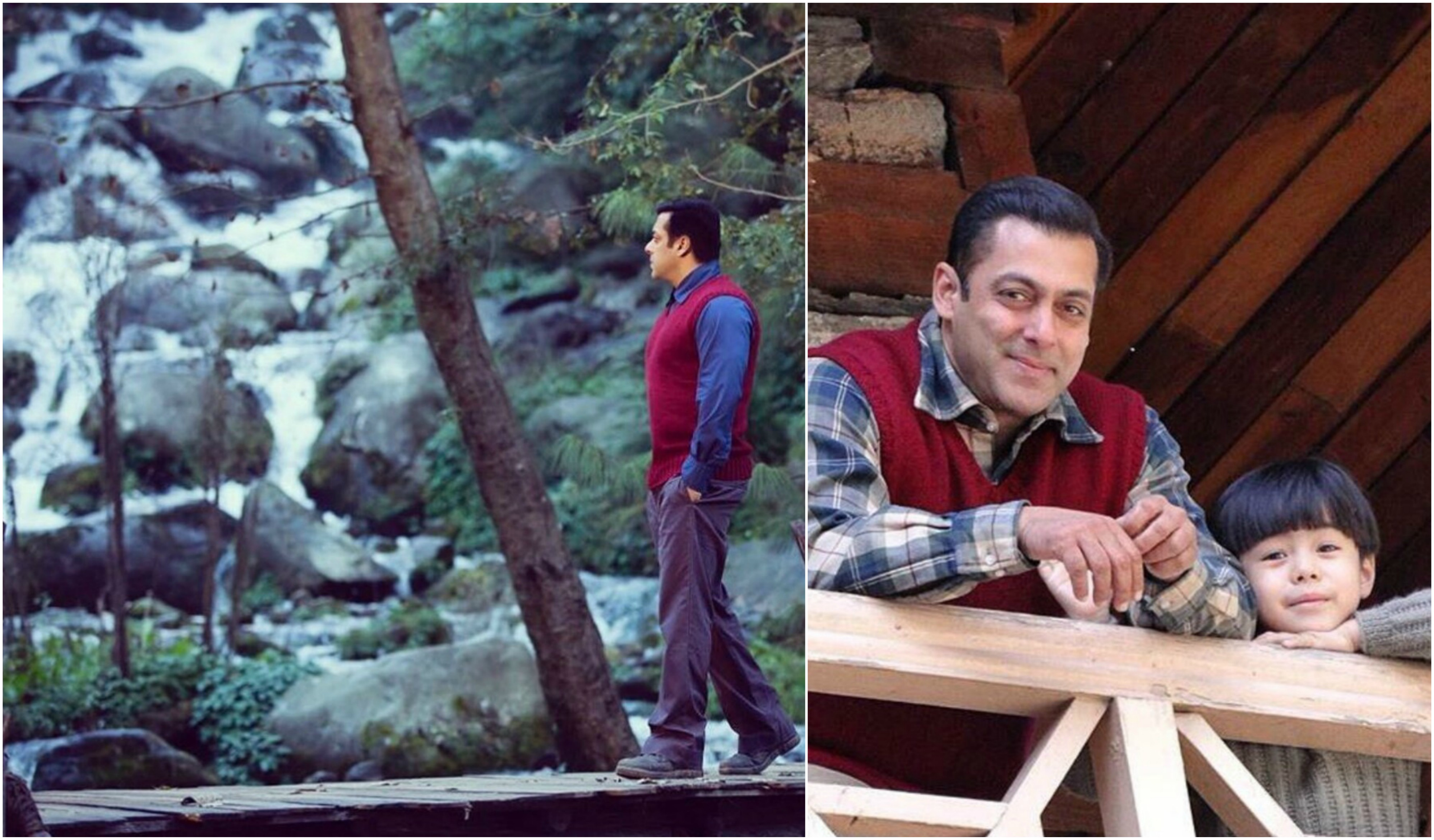 Salman Khan's candid pictures from the sets of Tubelight