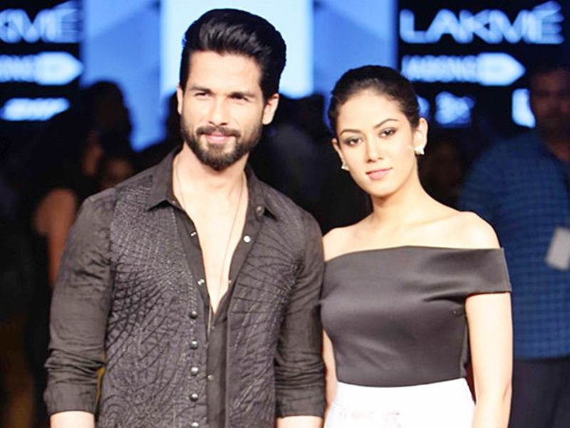 Hottest Married Couples of Bollywood- Shahid-Mira