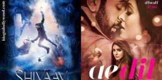 Shivaay, Ae Dil Hai Mushkil 13th Day Collection