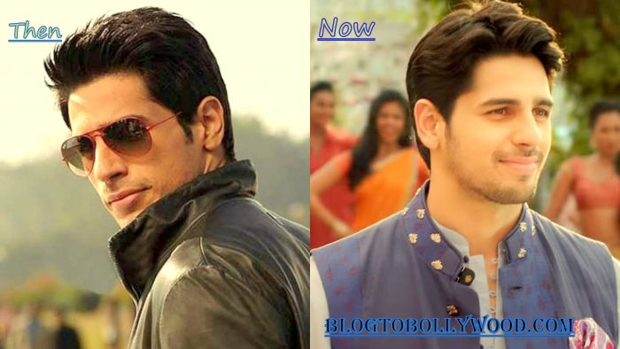Sidharth Malhotra: Then & Now