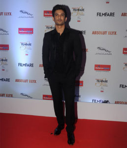 Sushant Singh Rajput at Filmfare Glamour and Style Awards