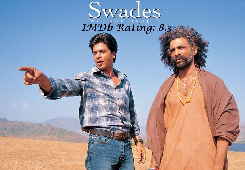 10 Best Shah Rukh Khan Movies Based on IMDb Ratings- Swades