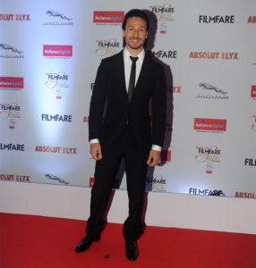 Tiger Shroff at the Filmfare Glamour and Style Awards