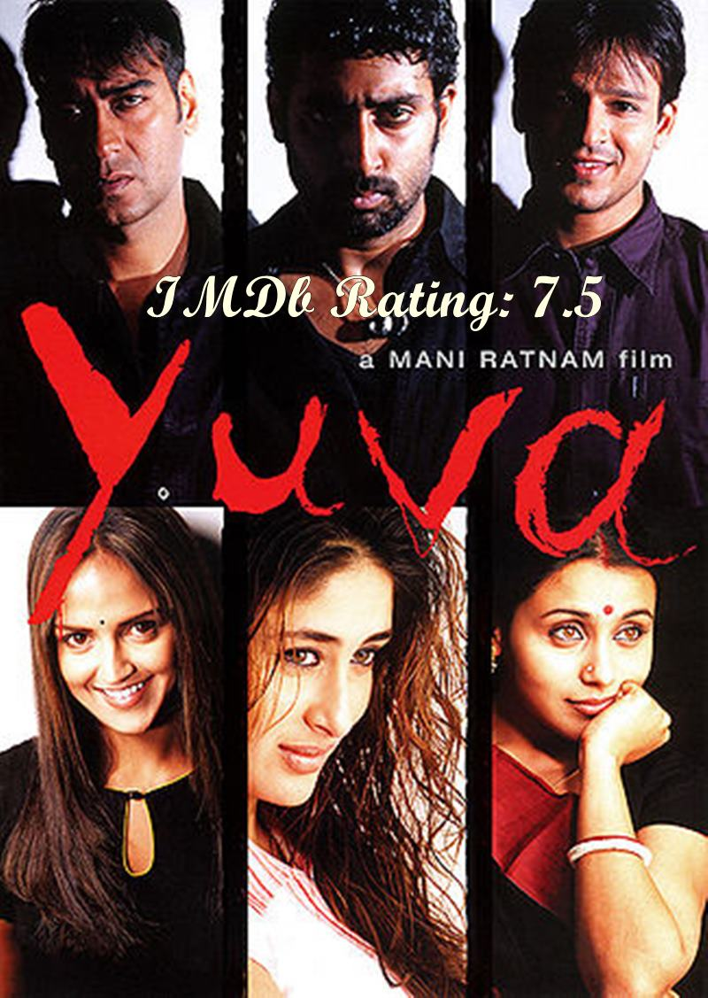 Top 10 Kareena Kapoor Khan Movies based on IMDb Ratings- Yuva