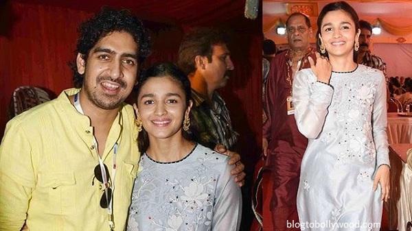 Bollywood celebrates Durga Pooja - Alia and Ayaan