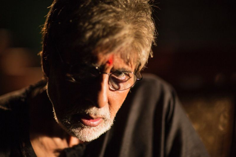 Amitabh Bachchan as Subhash Nagre in Sarkar 3