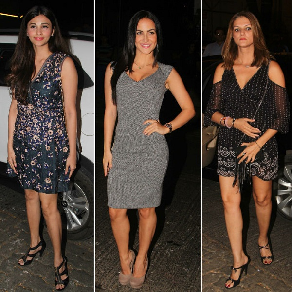 Daisy Shah, Elli Avram and Nandita Mahtani