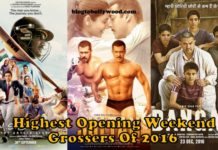 top opening weekend grossers of 2016 - Dangal, Sultan and Dhoni