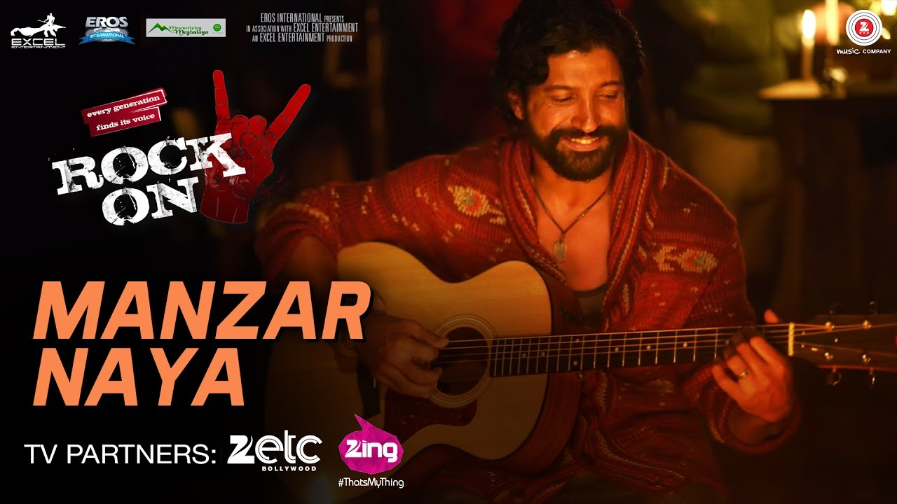 Farhan Akhtar sings with all his heart : Manzar Naya song from Rock On 2