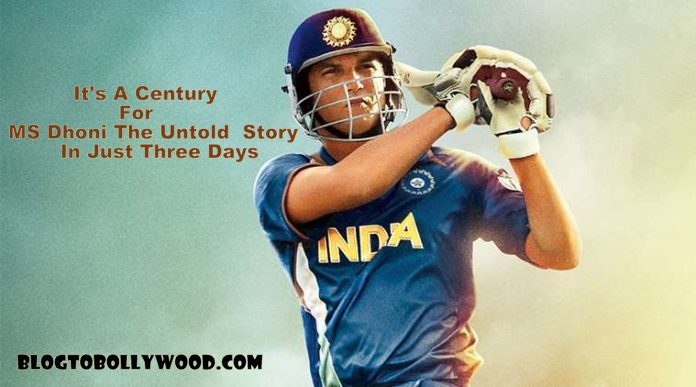 MS Dhoni The Untold Story Worldwide Box Office Collection: Grosses 100 Crores