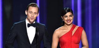 Tom Hiddleston and Priyanka Chopra met at the Emmy's award last month