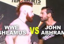 Pics: John Abraham and WWE Superstar Sheamus in Mumbai!