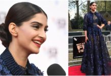 Sonam Kapoor at Mirzya London Premiere