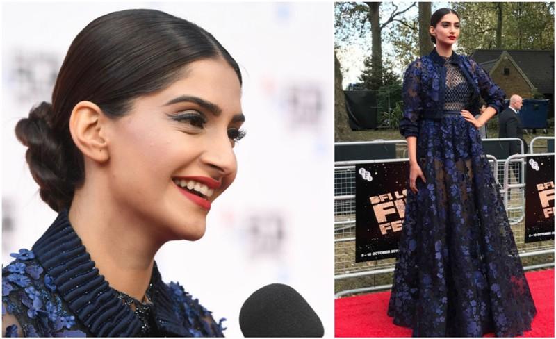Sonam Kapoor Looks Ravishing at Mirzya's London Premiere