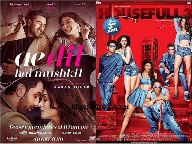 Ae Dil Hai Mushkil 3rd Weekend Collection: Beats Housefull 3 Lifetime Collection