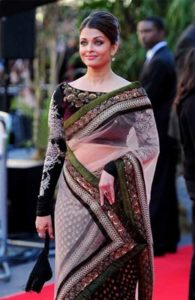 Bollywood actresses in sarees: Aishwarya