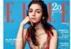 Alia Bhatt on ELLE magazine