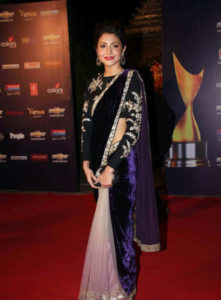 Bollywood actresses in sarees: Anushka