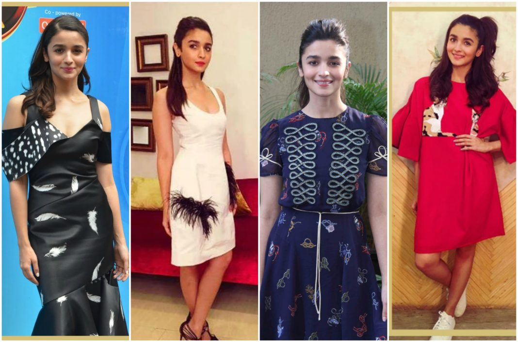 Alia Bhatt's trendy looks for Dear Zindagi Promotions