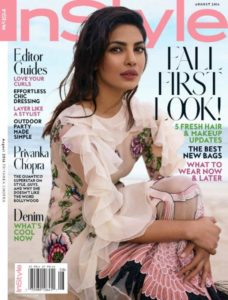 Priyanka Chopra on International Magazine Covers:: InStyle