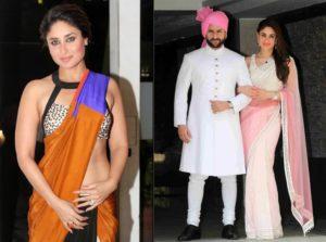 Bollywood actresses in sarees: Kareena