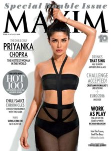 Priyanka Chopra on International Magazine Covers:: Maxim