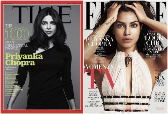 Priyanka Chopra on International Magazine Covers