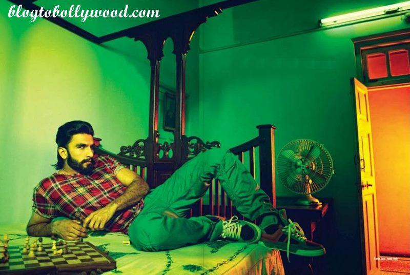 Ranveer Singh's eyes are way too intense in this still from Padmavati!