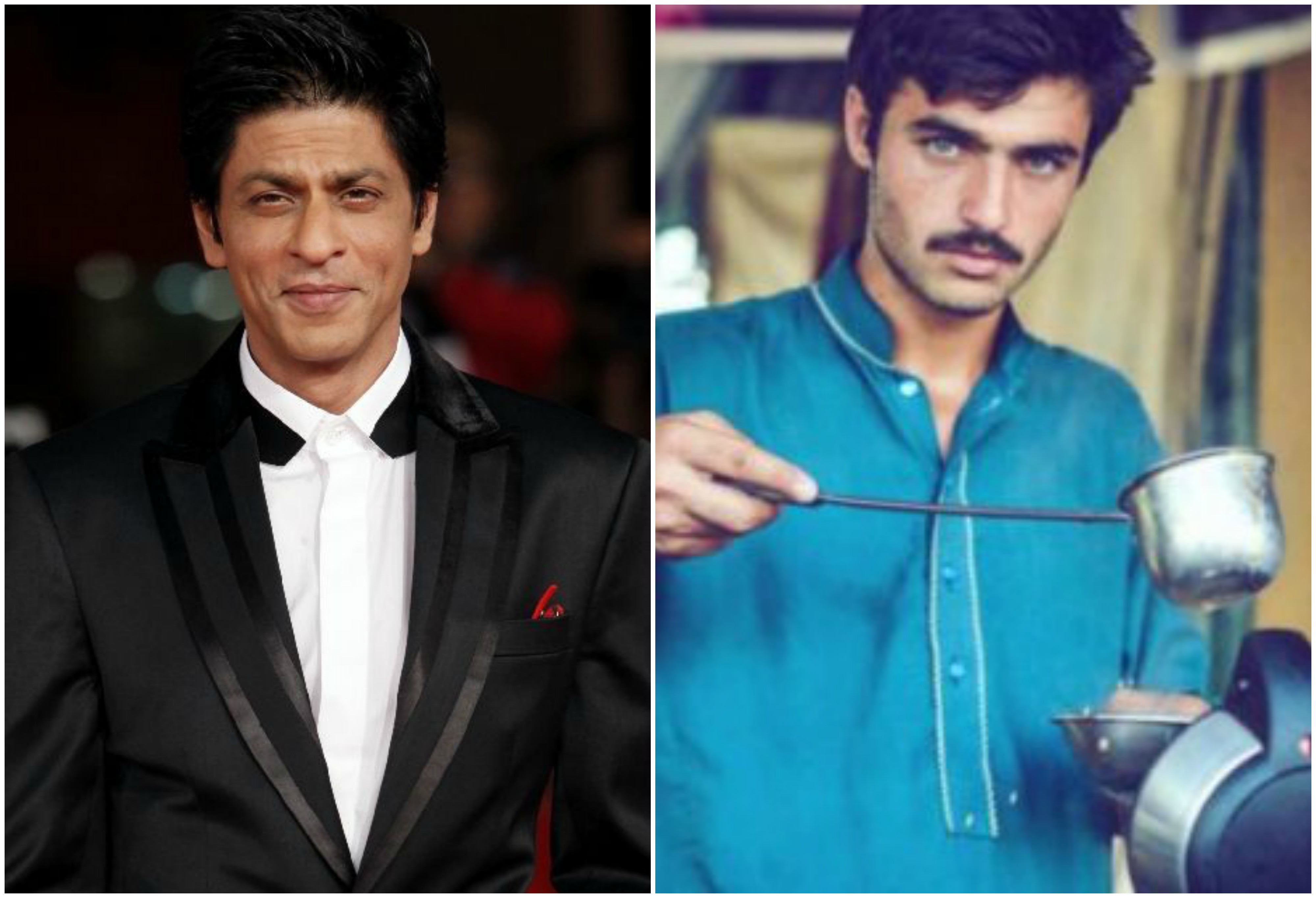 Pakistani Chaiwala thinks he looks like Shah Rukh Khan and SRK just Replied to it!