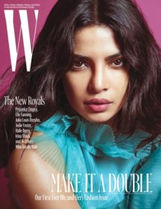 Priyanka Chopra on International Magazine Covers:: W