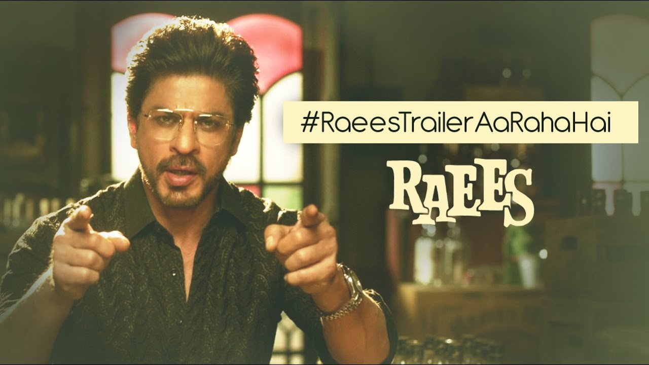Finally, SRK Reveals Raees Trailer Release Date In His Own Raees Style