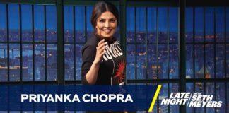 Priyanka at Late Night Show with Seth