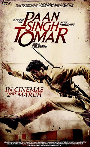 Top 10 Bollywood movies based on sports- Paan Singh Tomar